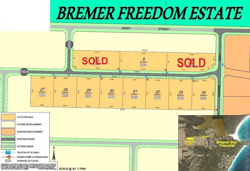 9 Lots Templetonia Road, Bremer Bay WA 6338, Image 2