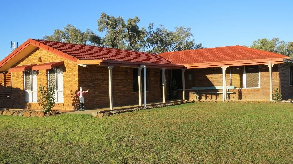 34 ACRES BRICK HOME, STABLES, Dalby QLD 4405, Image 1