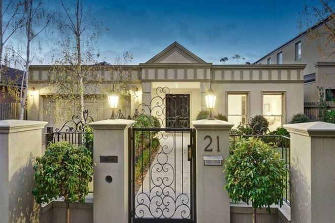 Picture of 21 Alexandra Avenue, CANTERBURY VIC 3126
