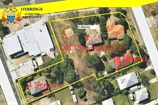 Picture of 5-7 Old Toowoomba Road, ONE MILE QLD 4305
