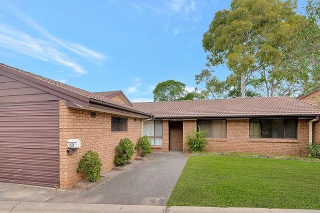 Picture of 60/36 Ainsworth Crescent, WETHERILL PARK NSW 2164