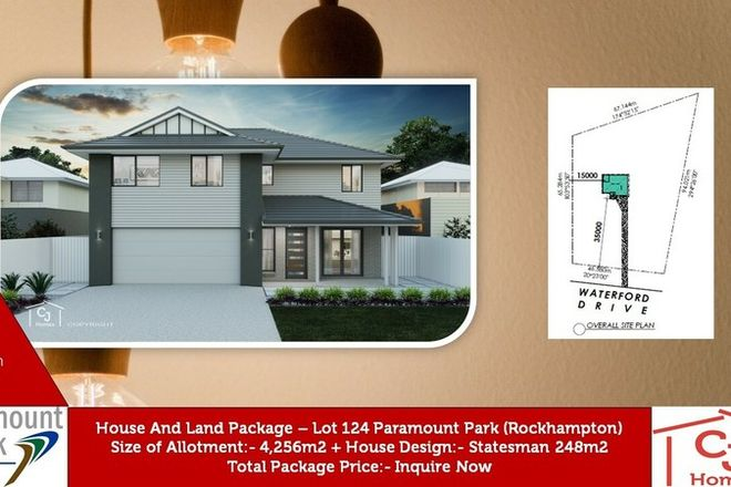 Picture of Lot 124 Waterford Dr, ROCKYVIEW QLD 4701