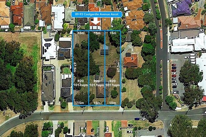 Picture of 89-93 Coolgardie Avenue, ASCOT WA 6104