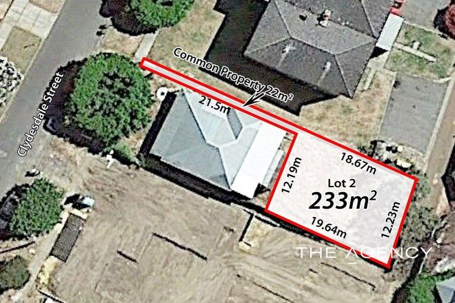 Picture of Lot 2/16 Clydesdale Street, BURSWOOD WA 6100