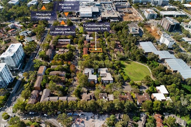 Picture of 1/7 Cottonwood Crescent, MACQUARIE PARK NSW 2113
