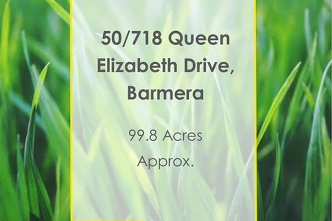 Picture of Lot 50/718 Queen Elizabeth Drive, BARMERA SA 5345