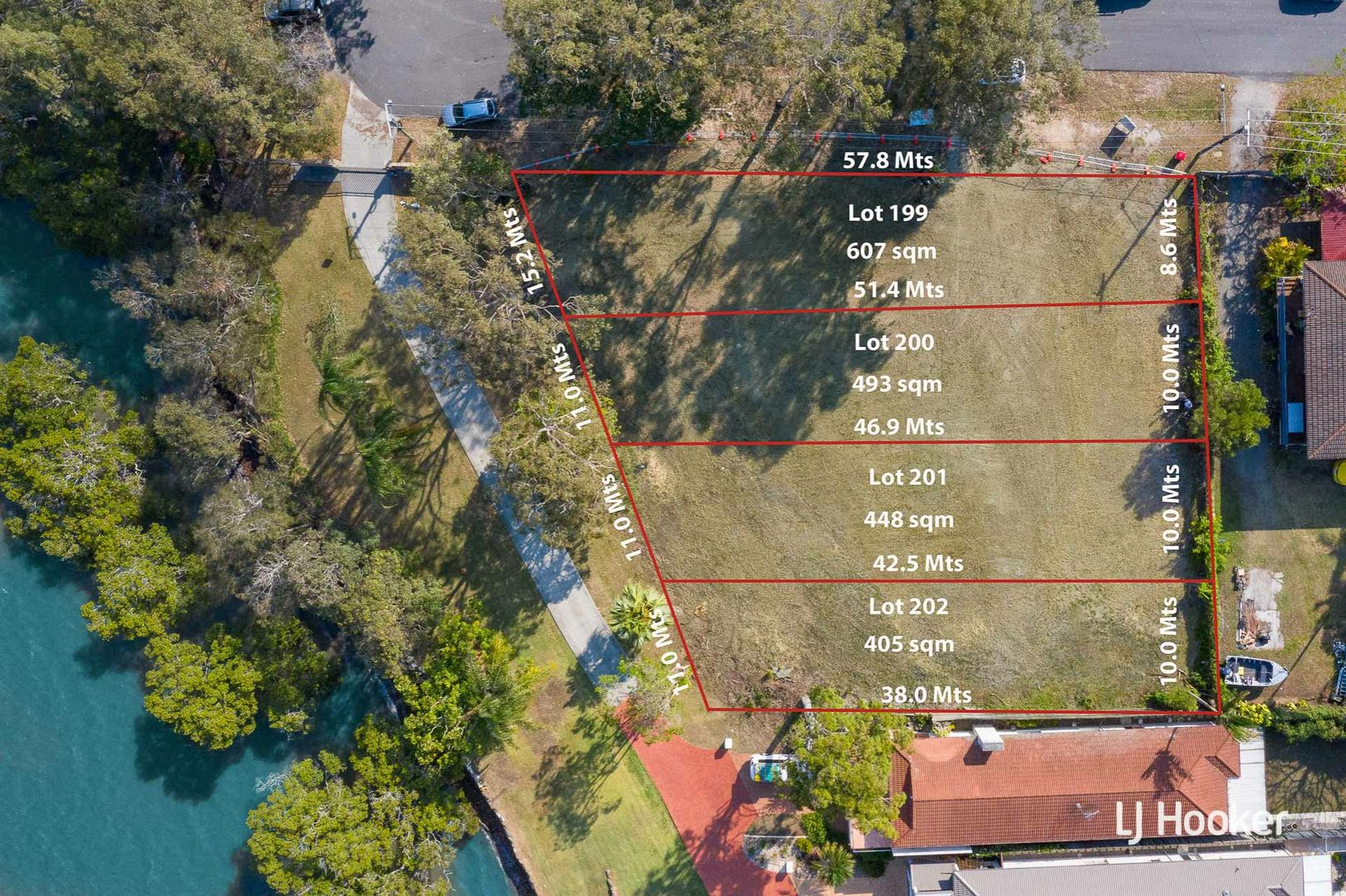 Lot 200 Waterfront Easement, Redland Bay QLD 4165, Image 1
