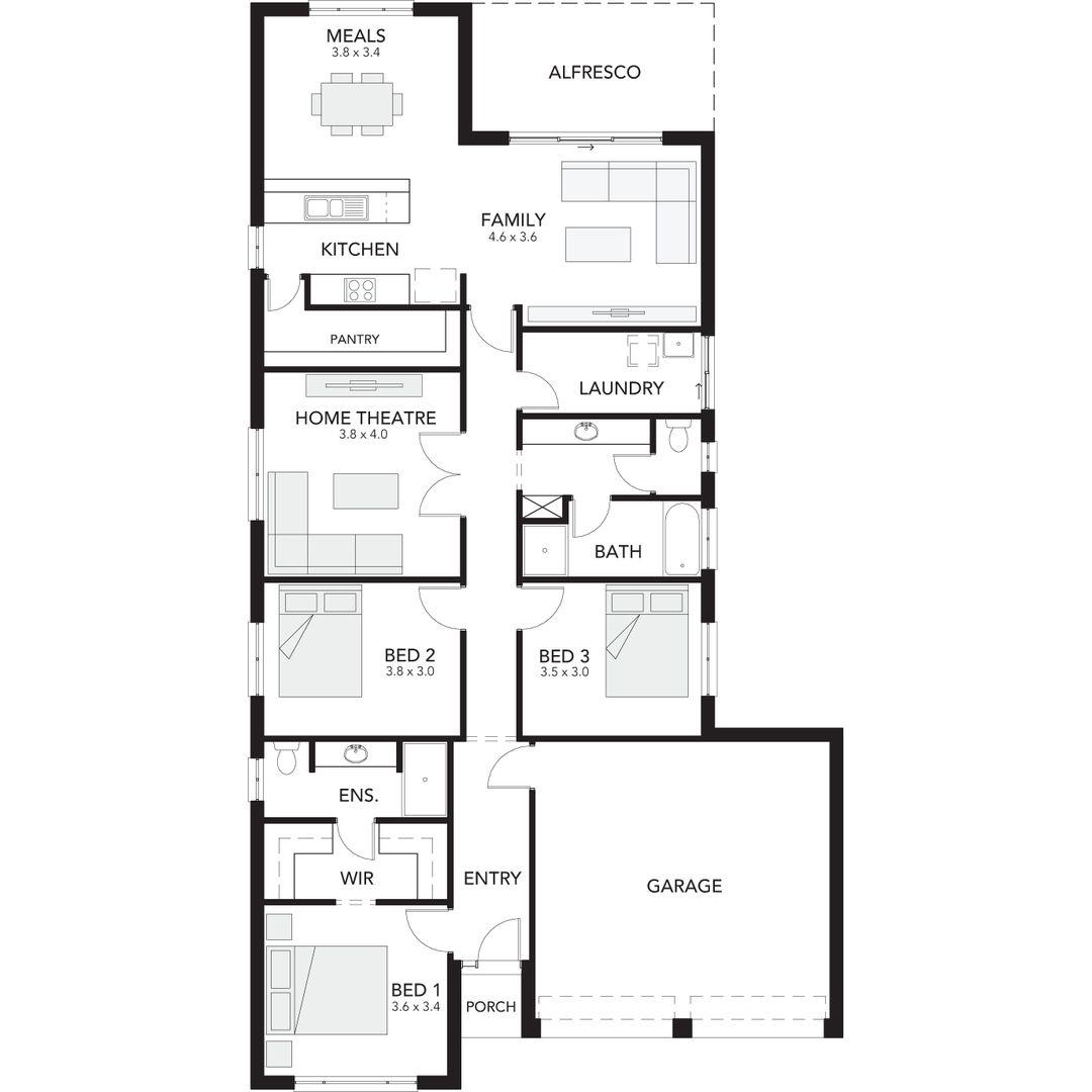 Lot 296 Ultramarine Place, Moana SA 5169, Image 0