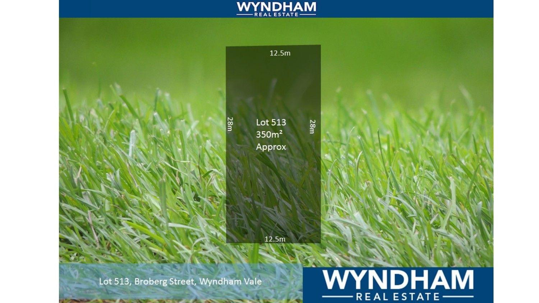 Lot 513/. Broberg Street, Wyndham Vale VIC 3024, Image 0