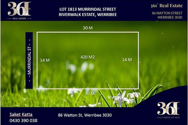 Picture of Lot 1813 Murrindal Street, WERRIBEE VIC 3030