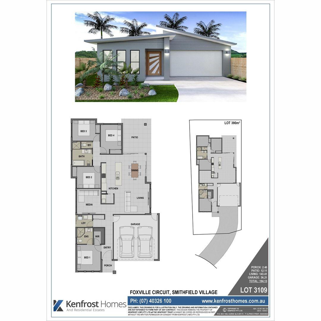 Lot 3109 Foxville Circuit, Smithfield QLD 4878, Image 1