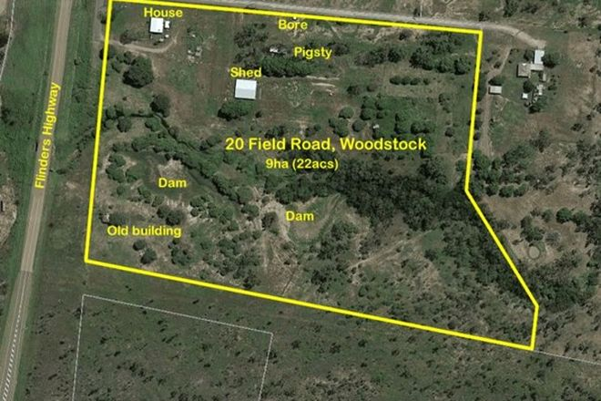 Picture of 20 Field Road, WOODSTOCK QLD 4816