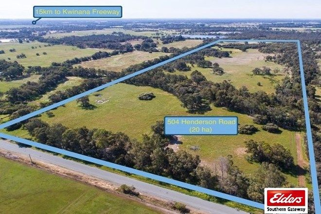 Picture of 478 (Lot 504) Henderson Road, HOPELAND WA 6125