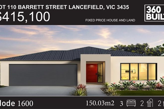 Picture of Lot 10 Barrett Street, LANCEFIELD VIC 3435