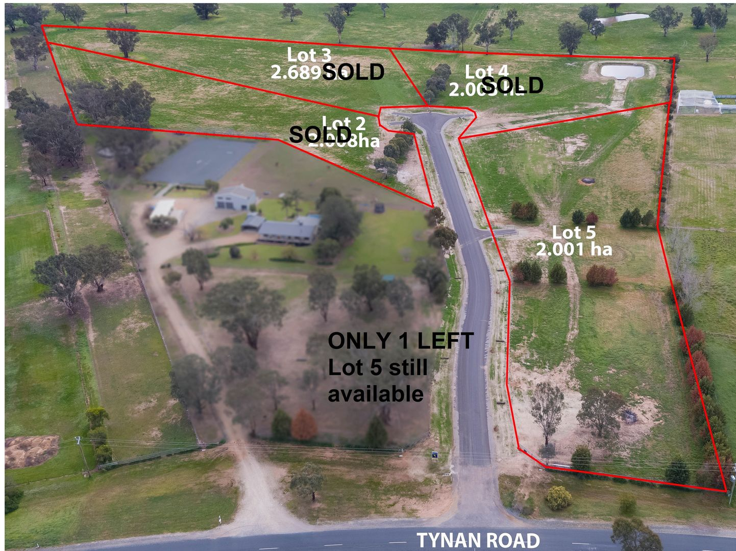 Lot 2,3,4,5 Two Gums Court, Table Top NSW 2640, Image 0