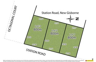 Picture of Lots1,2,3/191 Station Road, New Gisborne VIC 3438