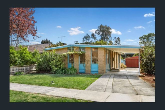 Picture of 5 Halsey Street, BOX HILL SOUTH VIC 3128