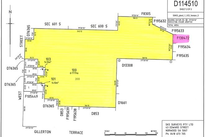 Picture of Lot 100 West Street, EDITHBURGH SA 5583