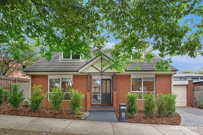 Picture of 43 Sweetland Road, BOX HILL VIC 3128
