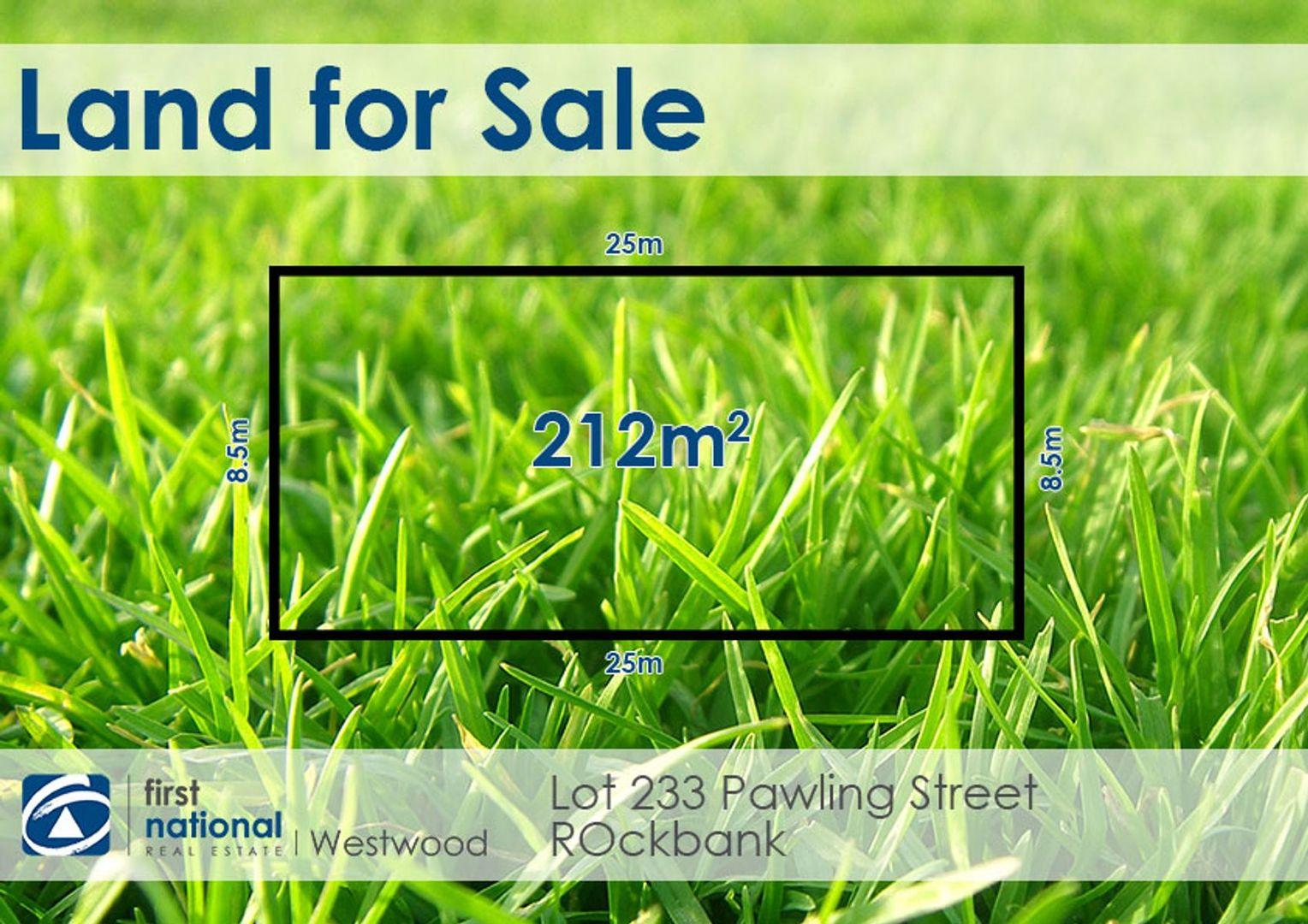 Lot 233 Pawling Street, Rockbank VIC 3335, Image 1