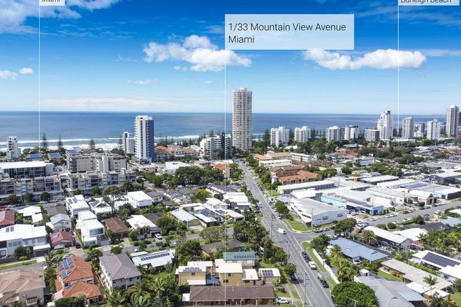 Picture of 1/33 Mountain View Avenue, MIAMI QLD 4220