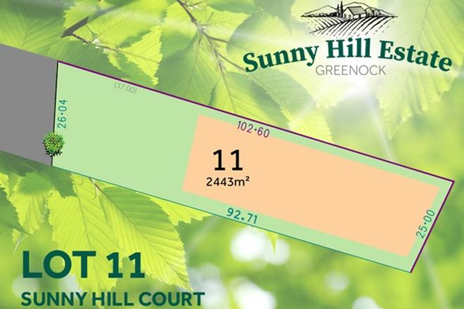 Picture of Lot 11 Sunny Hill Court, GREENOCK SA 5360