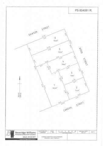 Lot 3 Wood Street, Rosedale VIC 3847, Image 1