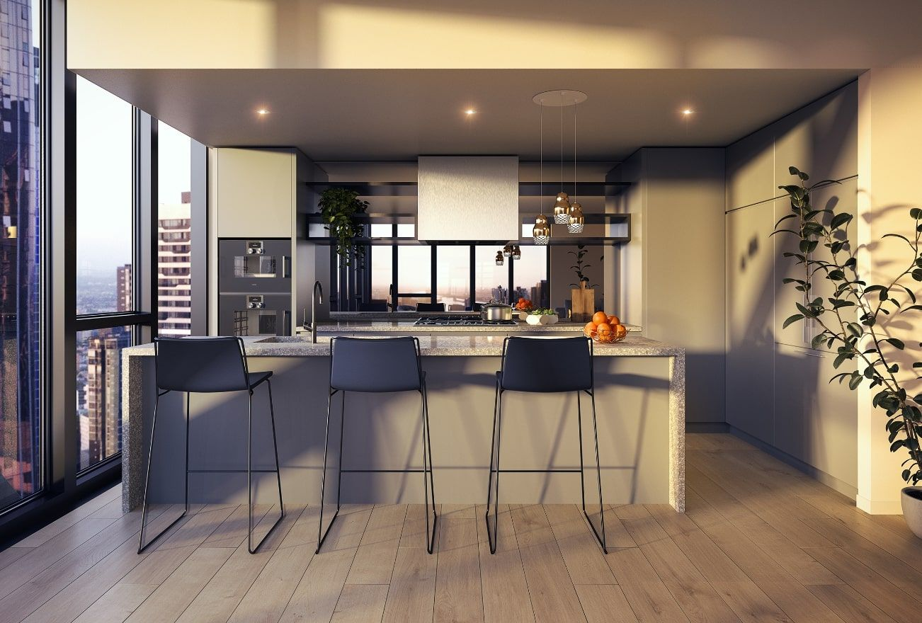 3 bedrooms New Apartments / Off the Plan in  MELBOURNE VIC, 3000