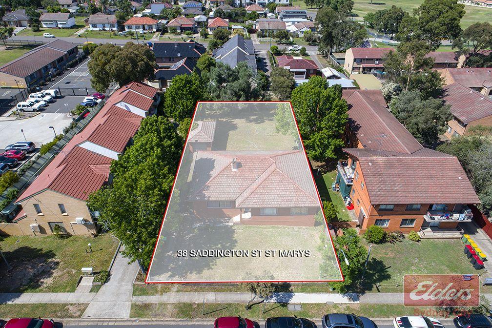 38 SADDINGTON STREET, St Marys NSW 2760, Image 0