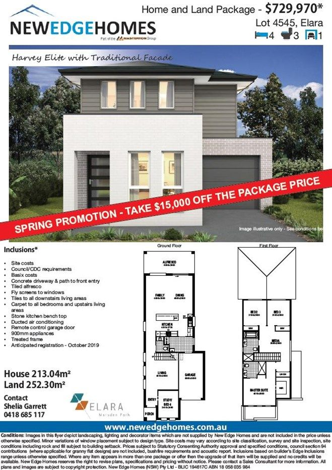 Lot 4545 Proposed Road (Elara), Marsden Park NSW 2765, Image 1