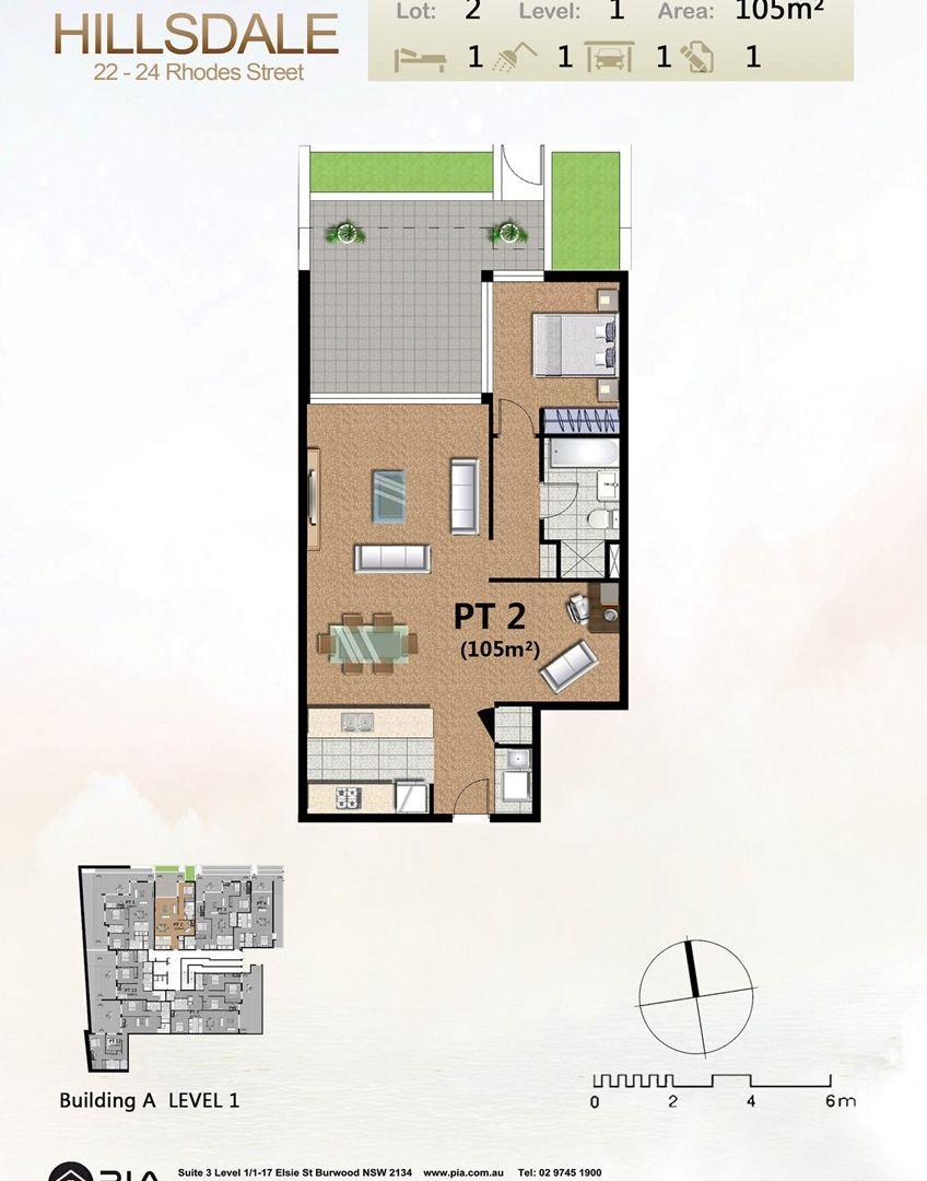102/22-24 Rhodes St, Hillsdale NSW 2036, Image 1