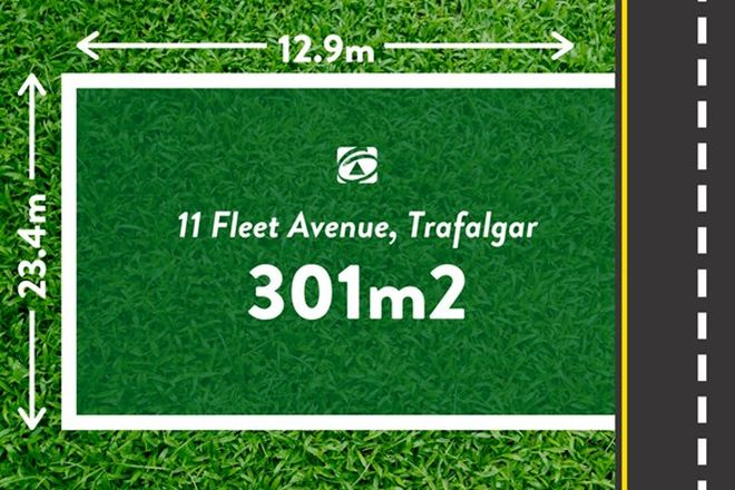 Picture of 11 Fleet Avenue, TRAFALGAR VIC 3824