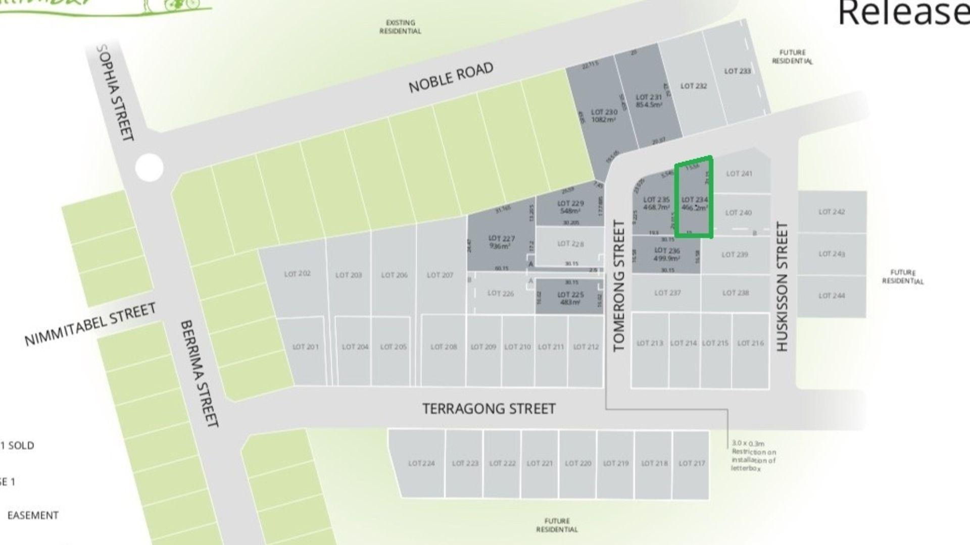 Lot 234 Tomerong Street, Tullimbar NSW 2527, Image 2