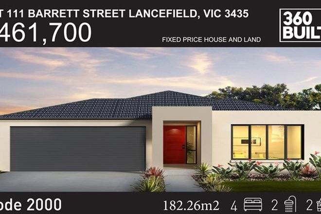 Picture of Lot 11 Barrett Street, LANCEFIELD VIC 3435