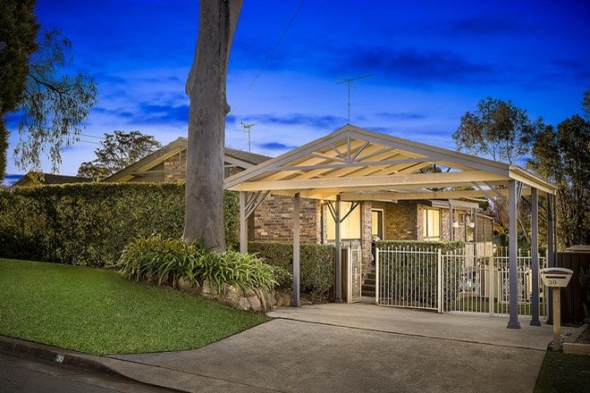 Picture of 30 Spring Road, KELLYVILLE NSW 2155