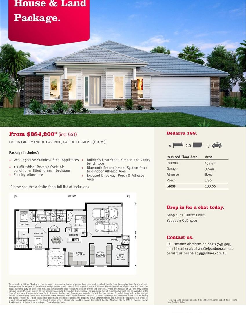 Lot 10 Cape Manifold Avenue, Pacific Heights QLD 4703, Image 1