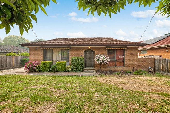 Picture of 98 Mullum Mullum Road, RINGWOOD VIC 3134