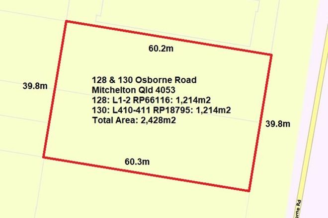 Picture of 128 & 130 Osborne Road, MITCHELTON QLD 4053