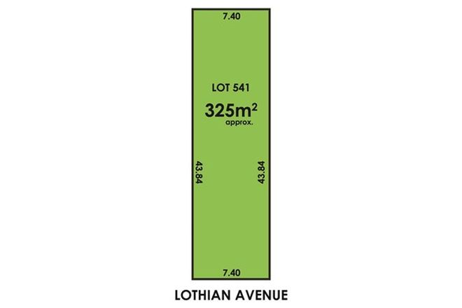 Picture of Lot 541 17 Lothian Avenue, WINDSOR GARDENS SA 5087