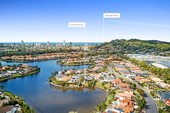 Picture of 6 Crozet Court, BURLEIGH WATERS QLD 4220