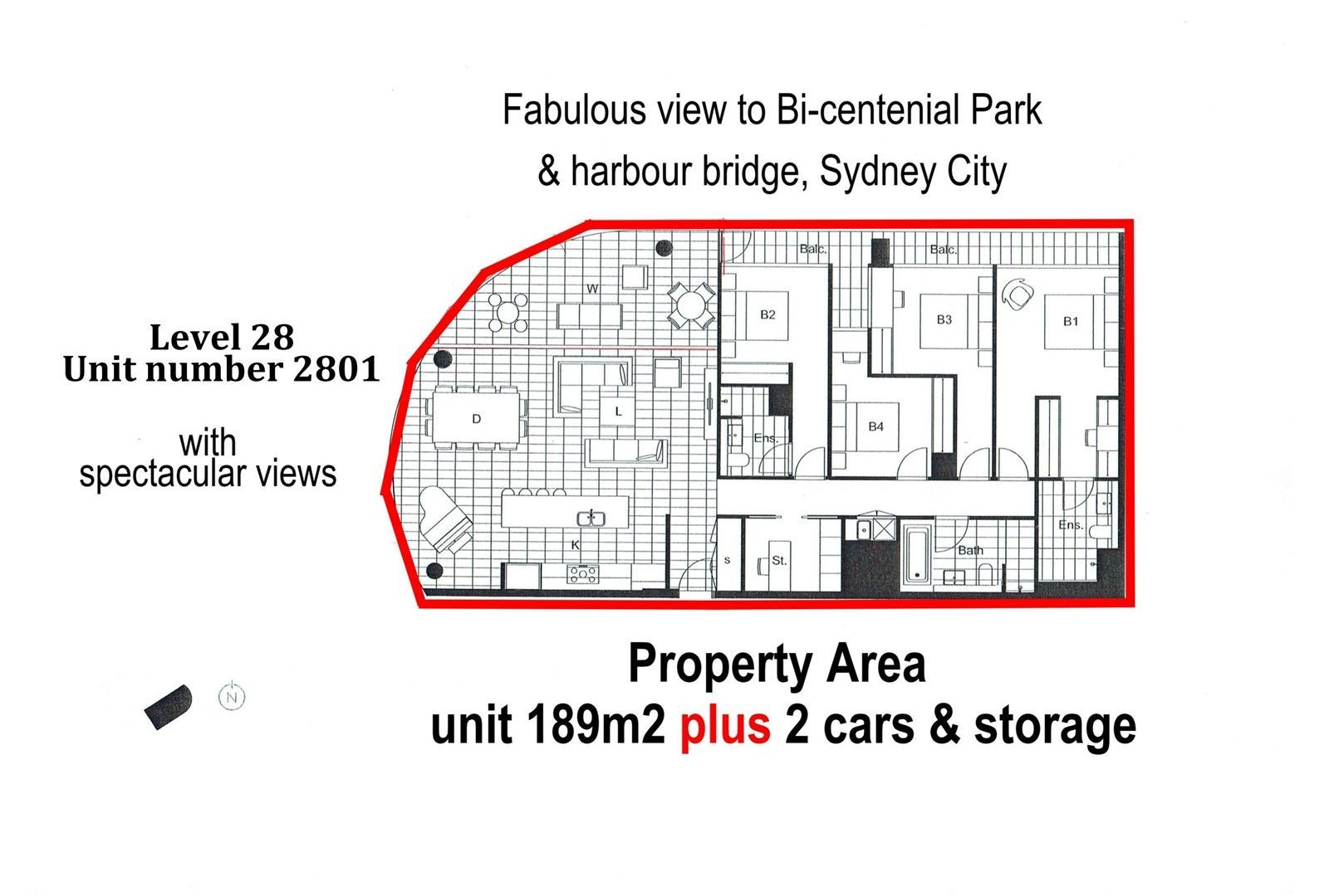 2801/1 Brushbox Street, Sydney Olympic Park NSW 2127, Image 2
