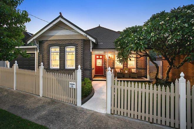 Picture of 13 Milroy Avenue, KENSINGTON NSW 2033