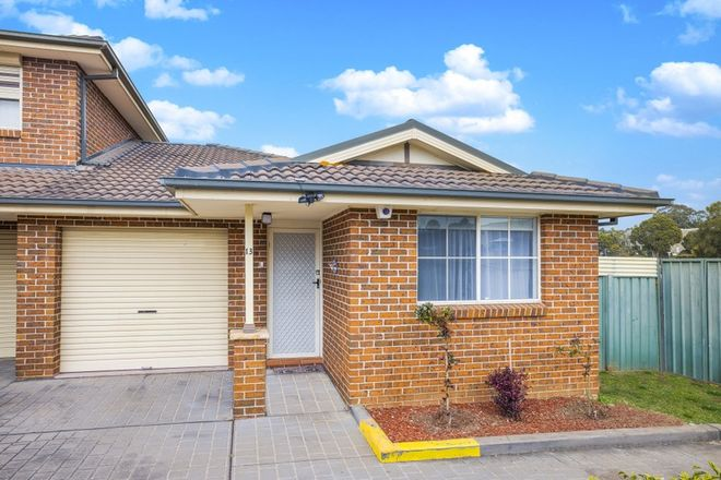 Picture of 13/162 Chifley Street, WETHERILL PARK NSW 2164