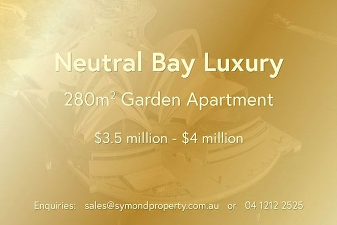 Picture of NEUTRAL BAY NSW 2089