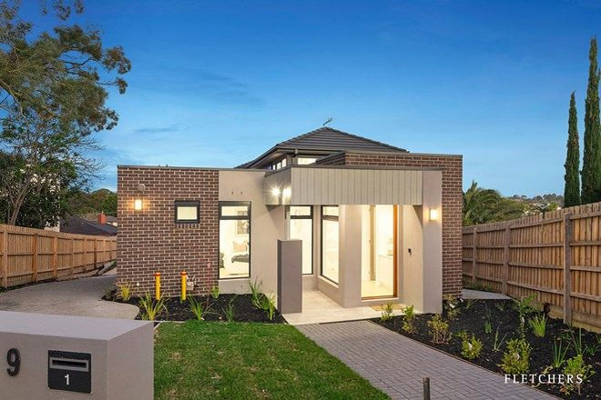Picture of 1/9 Whalley Court, DONCASTER EAST VIC 3109