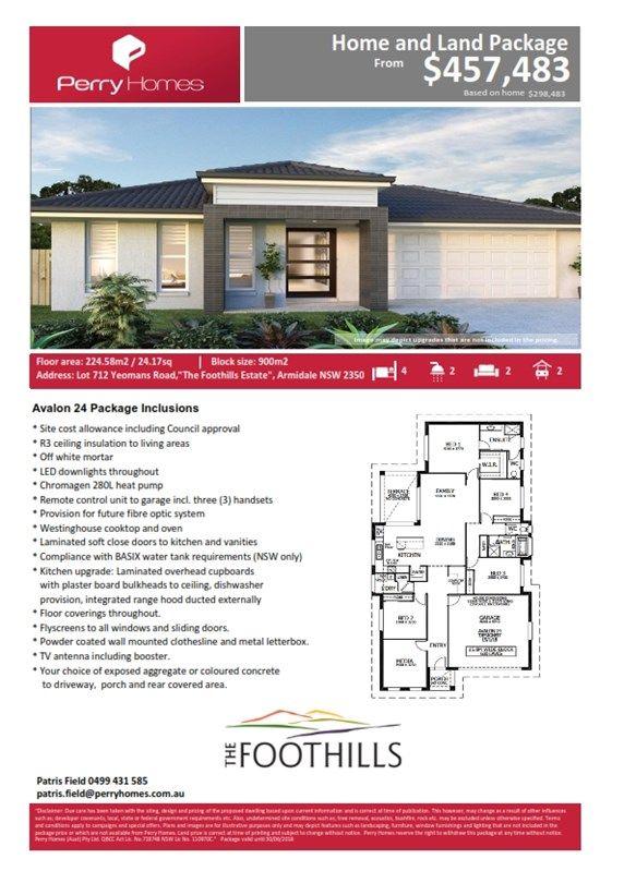 Lot 712 Yeomans Road, Armidale NSW 2350, Image 2