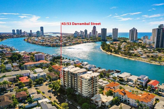 Picture of 43/53 Darrambal Street, SURFERS PARADISE QLD 4217