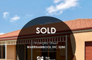 Picture of 3 Langley Street, Warrnambool VIC 3280