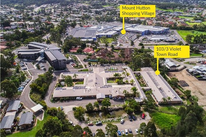 Picture of 103/3 Violet Town Road, MOUNT HUTTON NSW 2290