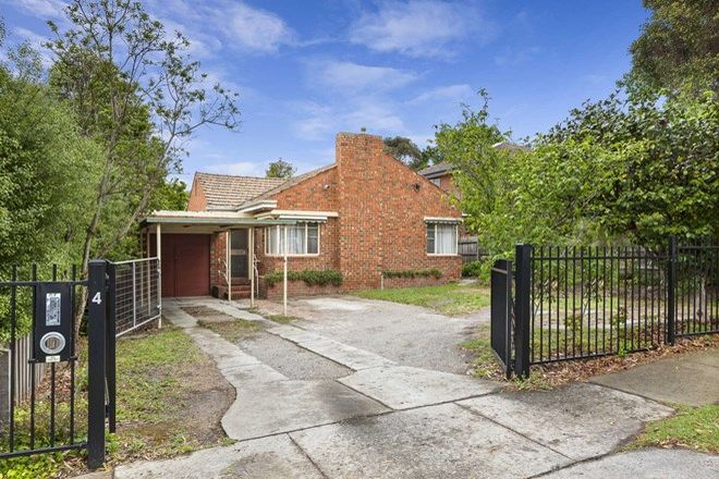 Picture of 4 Melrose Street, MONT ALBERT NORTH VIC 3129